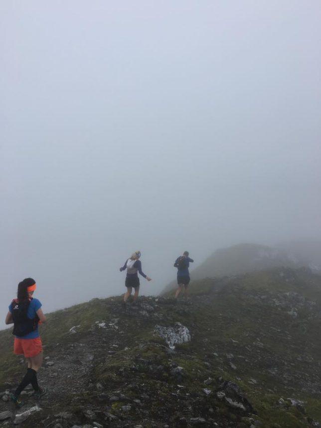 Training in summer in Scotland.